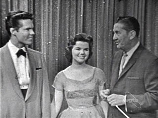 Barbara Boylan and Bobby Burgess with Lawrence Welk