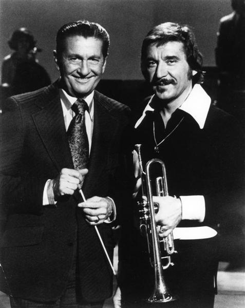 Doc Severinsen and Lawrence Welk